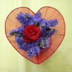 Bouquet de fleurs coupées - violet
