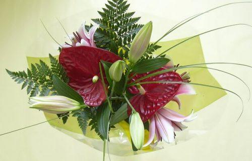 bouquet de fleurs coupées - Composition mixte