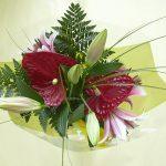 bouquet de fleurs coupées - Fleurs et vert