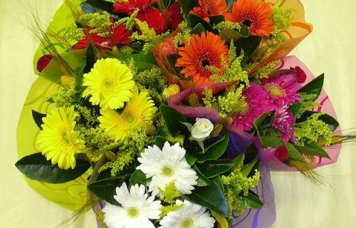 bouquet de fleurs coupées - Diverses couleurs